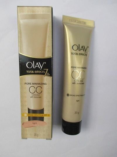 2. Olay Total Effect Pore Minimizing CC Cream