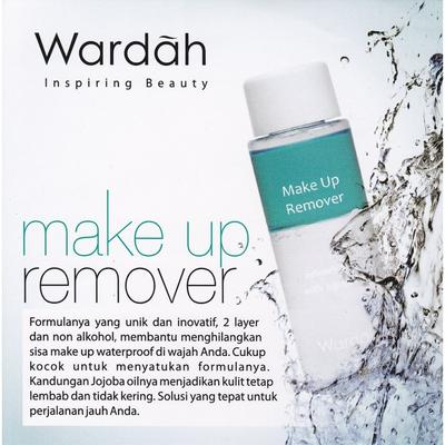 1. Wardah Makeup Remover