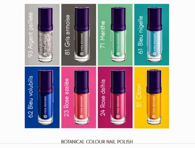 Nail Polish Sesuai Mood Dari Yves Rocher: Botanical Color Nail Polish