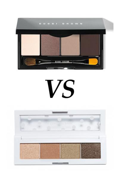 Bobbi Brown Eye Palette vs 3 Concept Eyes Dot Shadow Palette