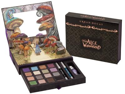 Urban Decay & Koleksi Pertama Alice in Wonderland: Eyeshadow Book Of Shadow