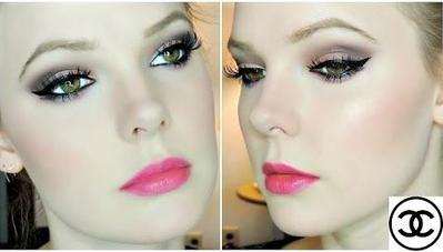 Tutorial Makeup Smokey Spring Look yang Sweet & Sexy Dengan Eyeshadow dari Chanel