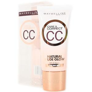 Maybelline Care & Correct CC Cream Natural Nude Glow