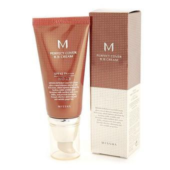 2. Missha M Perfect Cover BB Cream No.23 SPF 42/PA+++