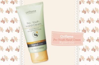 3. Oriflame Pro-Youth Hand Cream