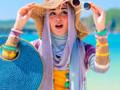 Tips Gaya Hijab untuk ke Pantai