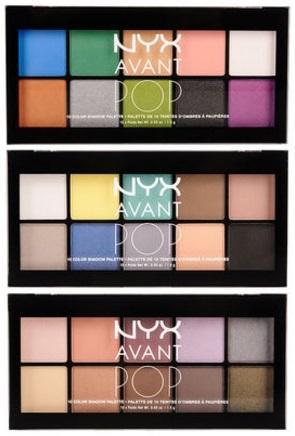 Ekspresikan Diri Dengan NYX Avant Pop! Eyeshadow Palette