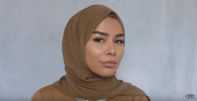 2 Menit Tutorial Style Hijab Kasual Super Simpel