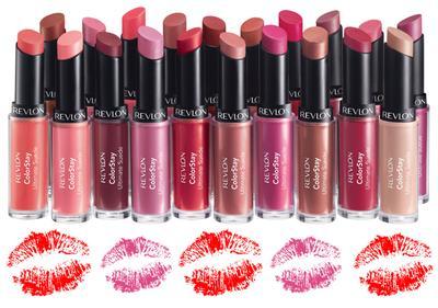 6. REVLON Colorstay Ultimate Suede Lipstick