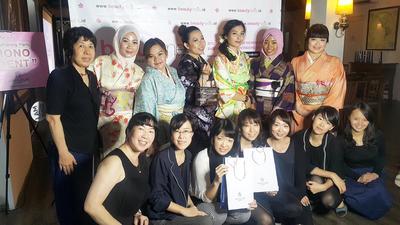 "Beautynesia Blogger Gathering ""Kimono Moment"""