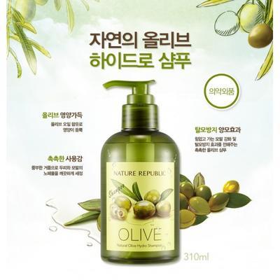 1. Nature Republic Natural Olive Hydro Shampoo