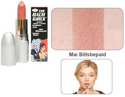 The Balm Girls Lipstick - Mai Billsbepaid