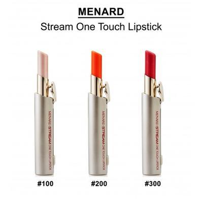 7. MENARD Stream One Touch Lipstick, Rp215.000