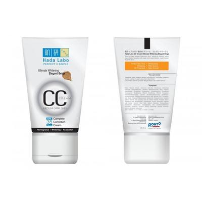 1. Hada Labo CC Cream Ultimate Whitening