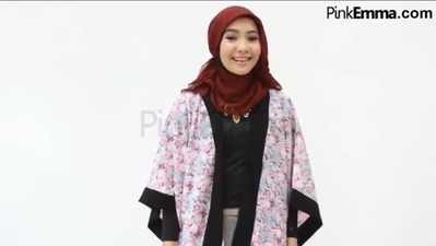 Tampil Cantik Dengan Style Hijab ke Kantor
