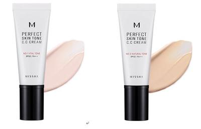 Missha M Perfect Skin Tone CC Cream SPF 30 PA++ 40 ml