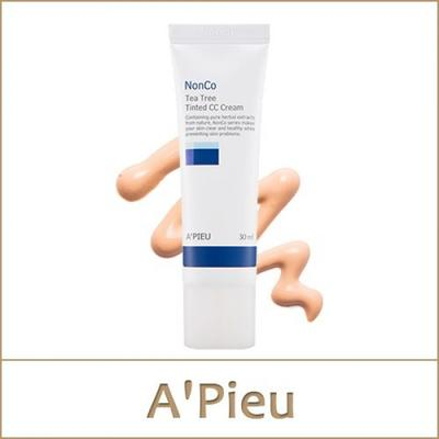 A'pieu Nonco Tea Tree Tinted CC Cream SPF 25/PA++ 30ml