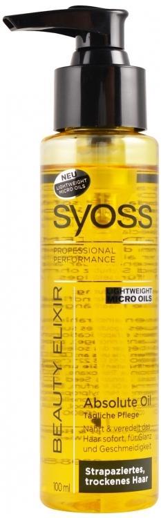 4. Syoss Beauty Elixir Absolute Oil Treatment