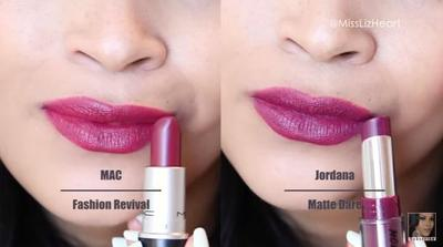 MAC Fashion Revival vs Jordana Matte Dare