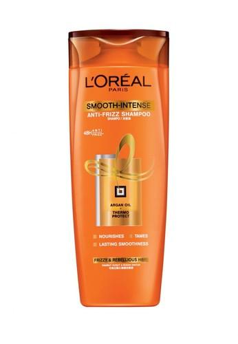 6. L'Oreal Paris Smooth Intense Caring Shampoo