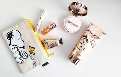 Kolaborasi Produk Skincare Serba Madu dari Skinfood x Snoopy