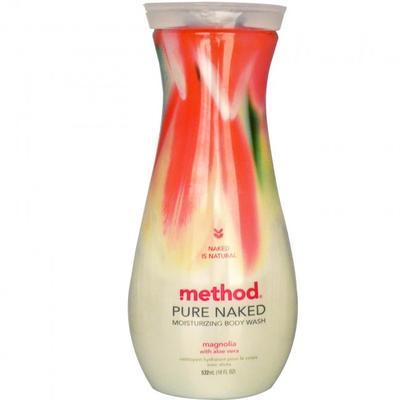 Method Pure Naked Moisturizing Body Wash Magnolia with Aloe Vera