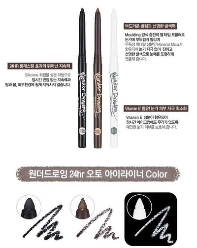 7. Holika Holika Wonder drawing 24HR Auto Eyeliner