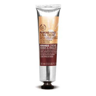 1. The Body Shop Almond Hand and Nail Cream 30ml