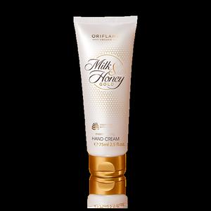 2. Oriflame Milk and Honey Gold Moisturizing Hand Cream