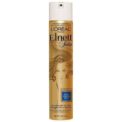 1. L'Oreal Paris Elnett Satin Hairspray