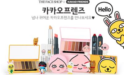 The Face Shop x Kakao Friends