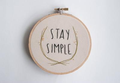 5. Tetap Simpel