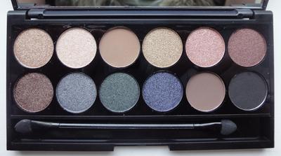 Sleek i-Divine Storm Eyeshadow Palette