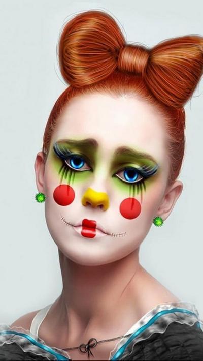 Tutorial Makeup: Clown Contouring Makeup