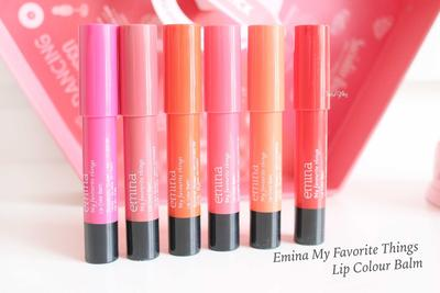 5. Emina My Favourite Things Lip Color Balm