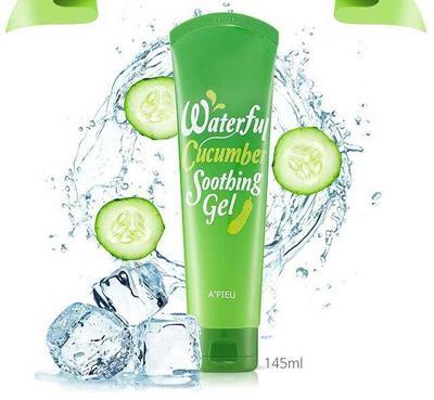 2. Apieu Waterful Cucumber Soothing Gel