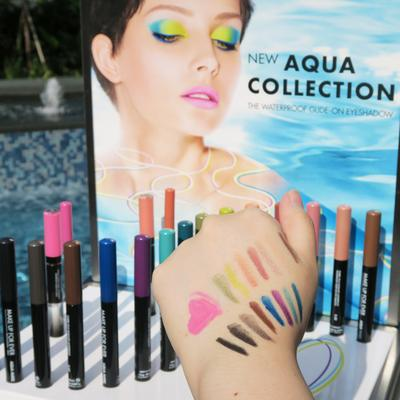 Make Up For Ever Luncurkan Produk Eyeshadow Seri Aqua Collection