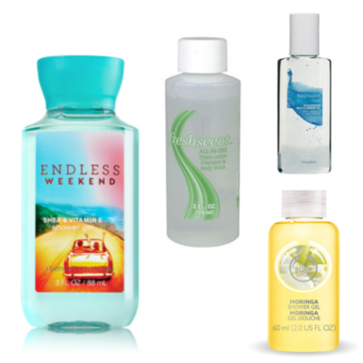Travelling Praktis Dengan Mini Shower Gel