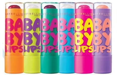 1. Maybelline - Baby Lips