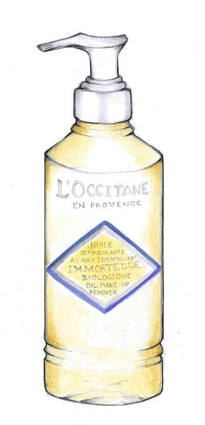 L'Occitane Immortelle Oil Make-up Remover