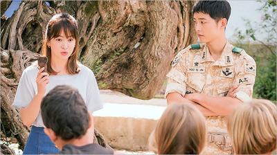 Sebahu Dengan Poni Jarang ala Song Hye Kyo