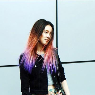 Warna-Warni Rainbow Hair