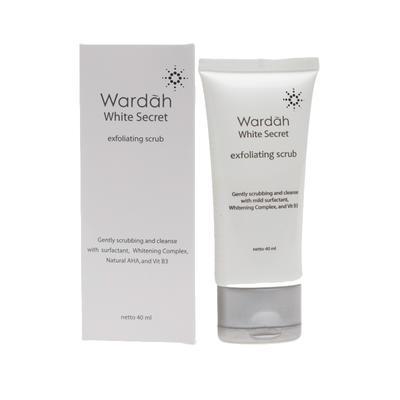 7. Wardah White Secret Exfoliating Scrub
