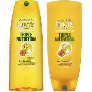 4. Garnier Fructis's Triple Nutrition Fortifying Cream Conditioner