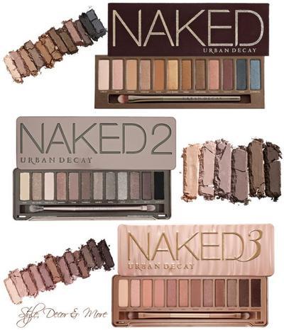 Makeup Natural Dengan Urban Decay Naked 3