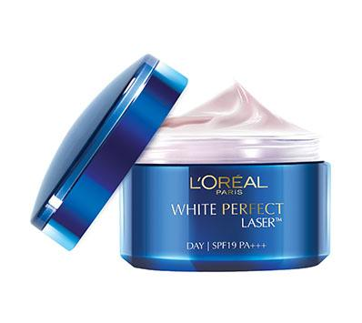 1. L'Oreal White Perfect Laser Whitening Cream