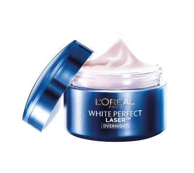2. White Perfect Laser Overnight Cream