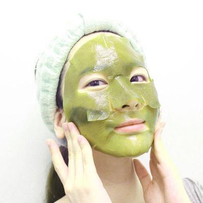 2. Whamisa Organic Sea Kelp Facial Sheet Mask