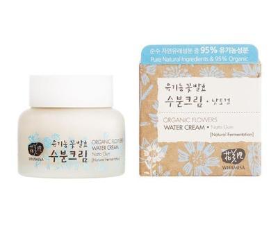 3. Whamisa Organic Flowers Water Cream