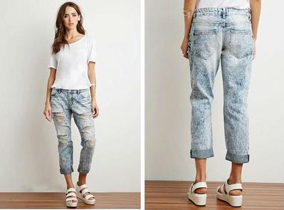 2. Boyfriend Jeans